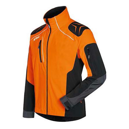 ADVANCE X SHELL kabát, narancsfekete Jegenye STIHL